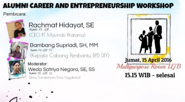 Alumni Career and Entrepreneurship Workshop