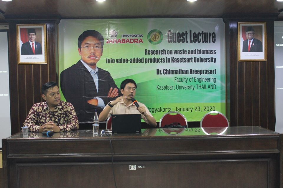 Guest Lecture from Kasetart University Thailand
